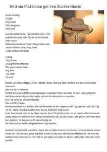 Bettina Plätzchen gut von Zuckerküssle